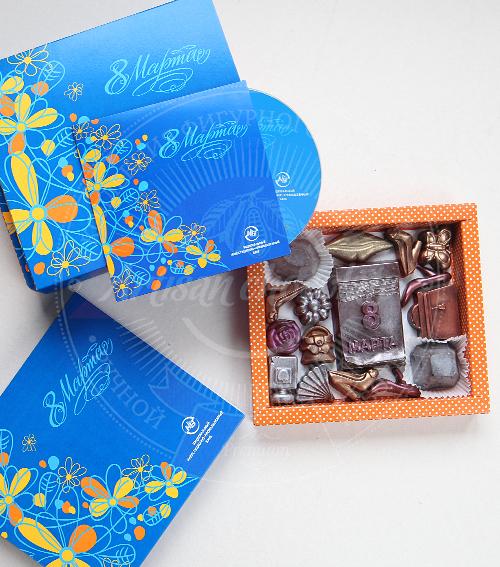 Шоколад в подарок женщине 995