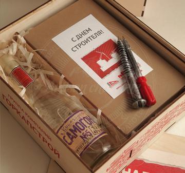 Шоколадные инструменты с алкоголем  Пассатижи, молоток и арматура. Копии настоящих инструментов из шоколада. Каждая фигура расположена в ложементе.  Брендирование, размещение логотипа компании  на шоколадных фигурах (барельеф на молотке). Размер упаковки: 275х165х25. Вес нетто шоколада: 355 гр. Подарочный футляр из дерева, для продуктового набора и  алкоголя, оформление в корпоративном стиле вашей компании.