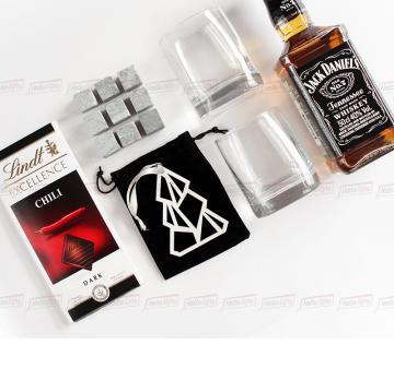 JACK | стильный подарок с алкоголем в подарочной упаковке из дерева  на любое событие