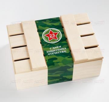 Упаковка из дерева для подарков