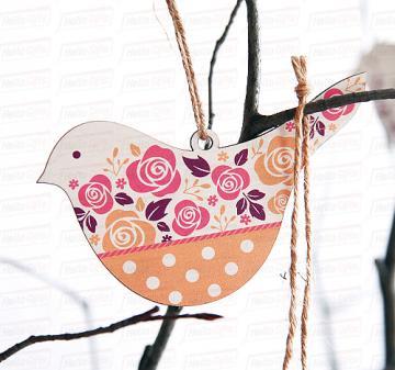 Птица счастья   Игрушка декоративная