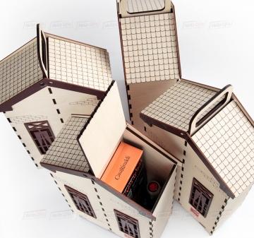 Оригинальная упаковка уз дерева для подарков