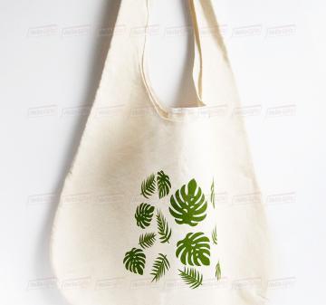 Корпоративные подарки для женщин   эко-сумка шоппер с принтом