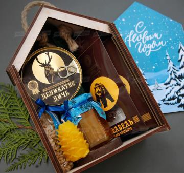 Оригинальные новогодние подарки оптом  2022