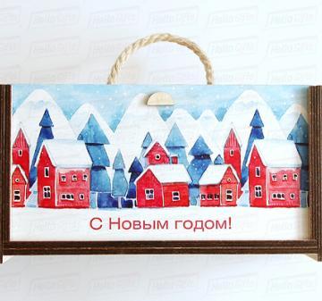 Новогодние подарки с логотипом оптом