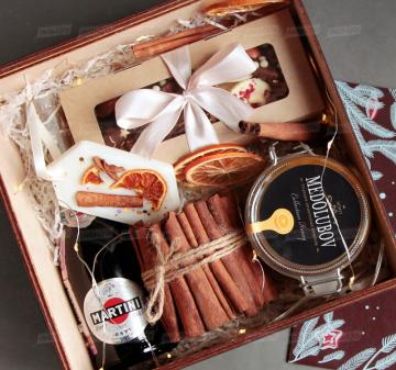 Hygge box  корпоративные подарки на Новый год оптом
