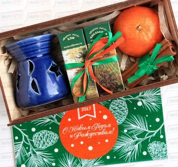 Аромалампа Новогодние подарки коллегам, сотрудникам и бизнес партнерам