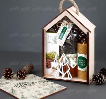 Подарки корпоративным клиентам на Новый год с логотипом