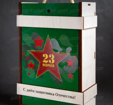 Производство подарочной упаковки из дерева на заказ оптом
