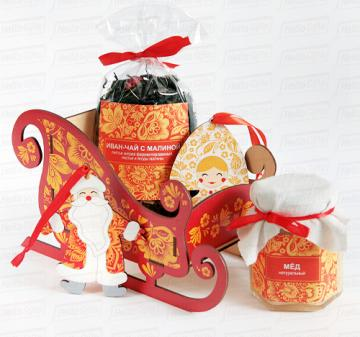 Ёлочные игрушки Дед Мороз и Снегурочка