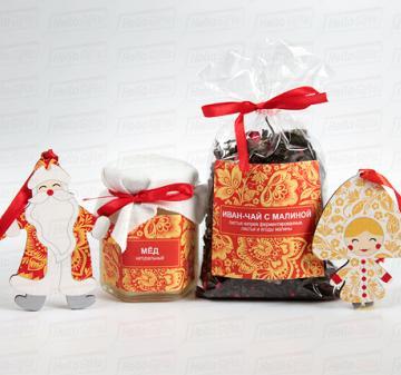 Сани деда Мороза  подарки к Новому году